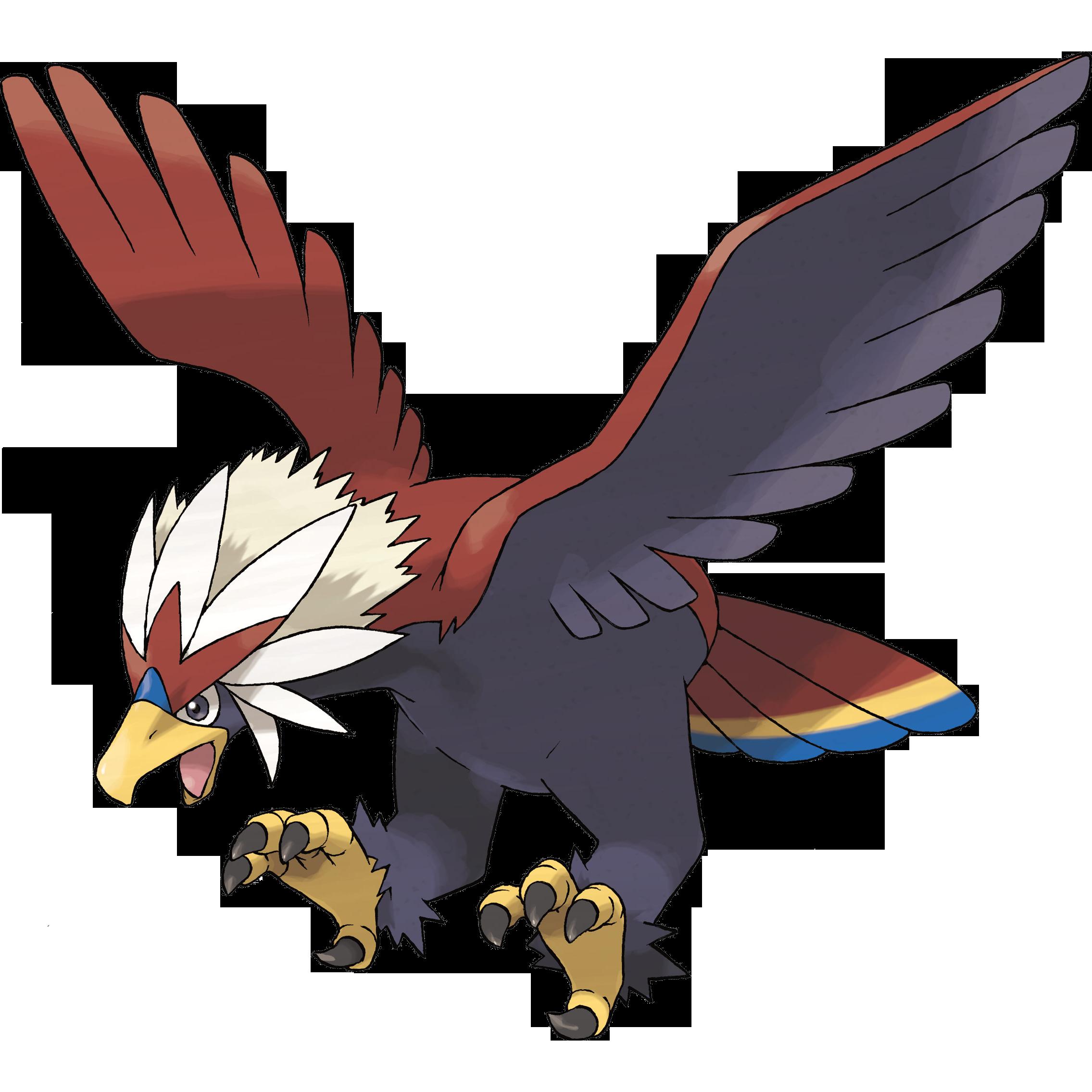 Flying (type) - Fantendo, the Video Game Fanon Wiki Fearow Mega Evolution