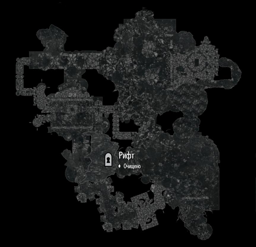 Скайрим Зал Гейрмунда Карта