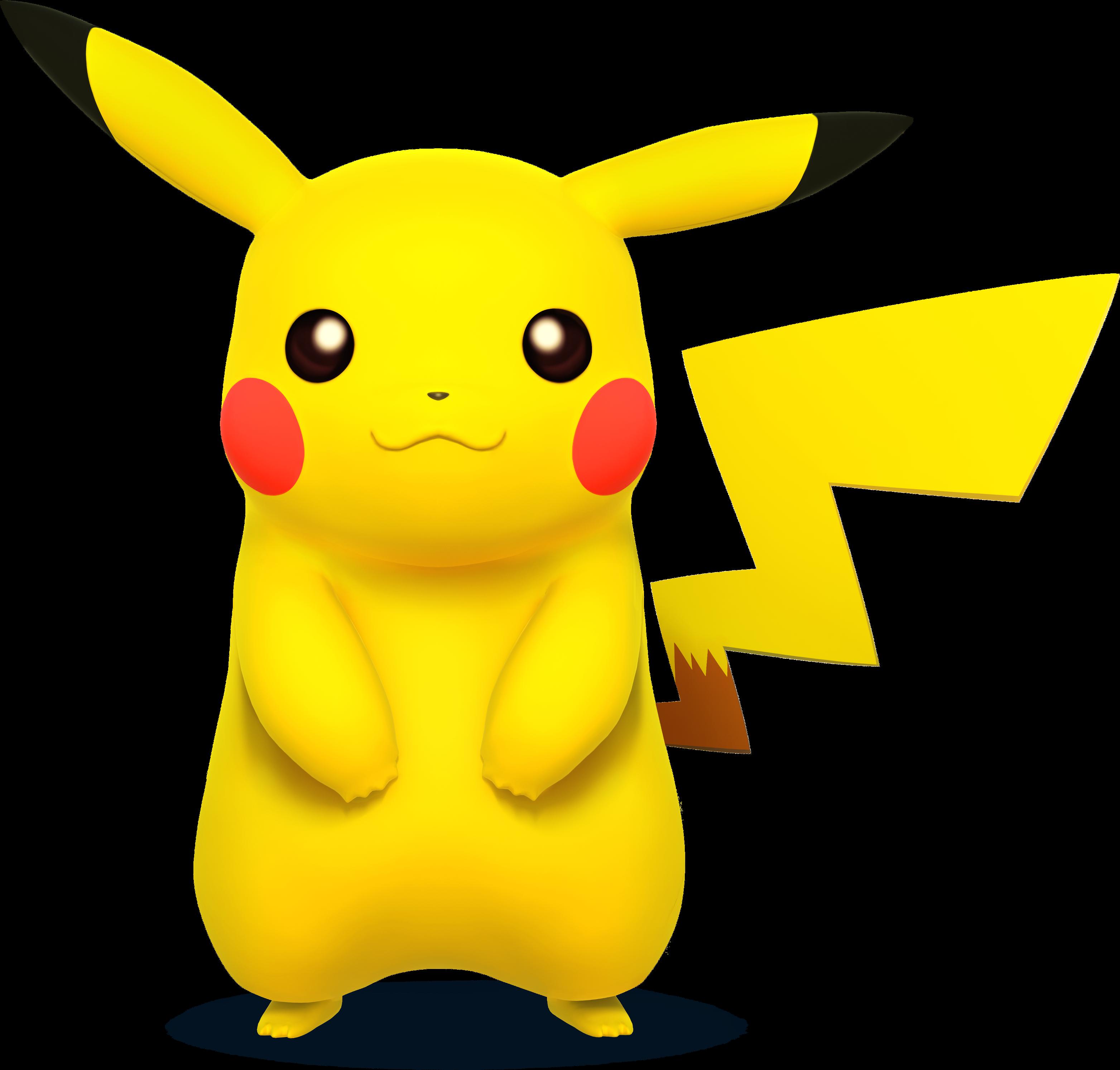Super Smash Bros 3DS/Wii U Pikachu_SSB4