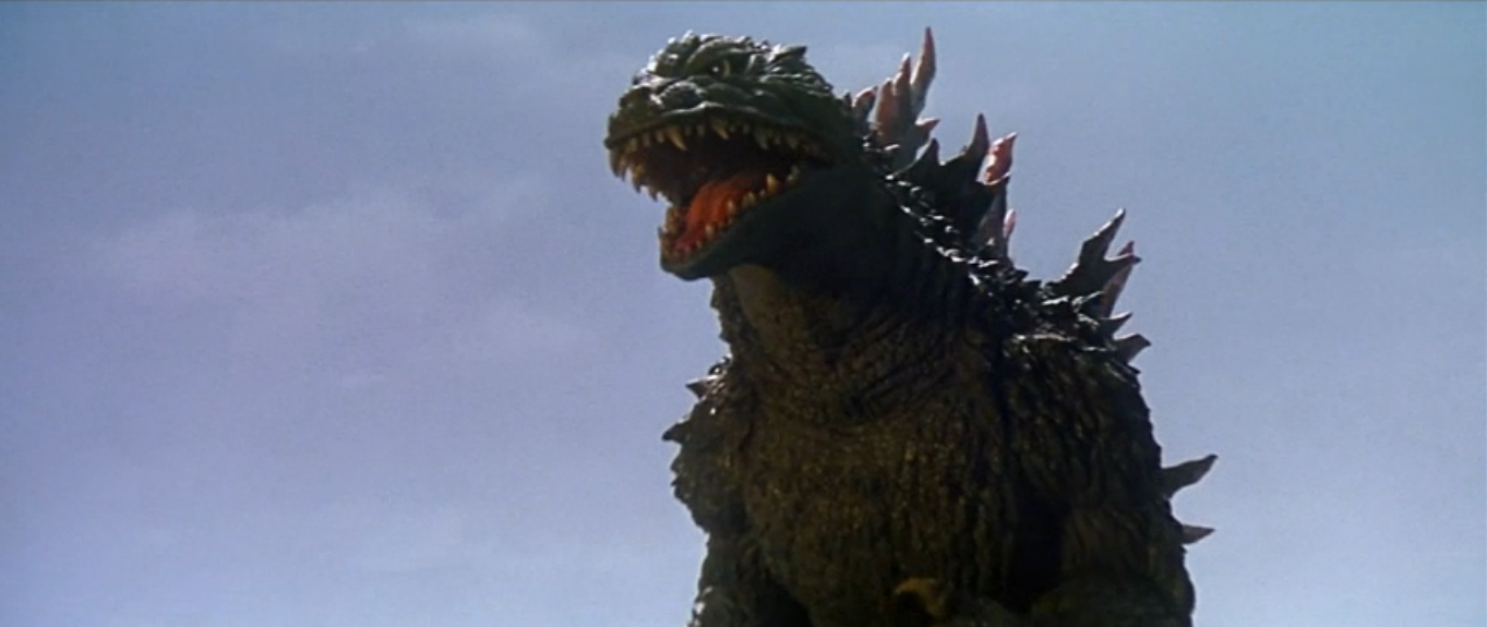 Size of this preview  640   215  270 pixels   Other resolution  320   215  135    Godzilla 2000 Vs Megaguirus
