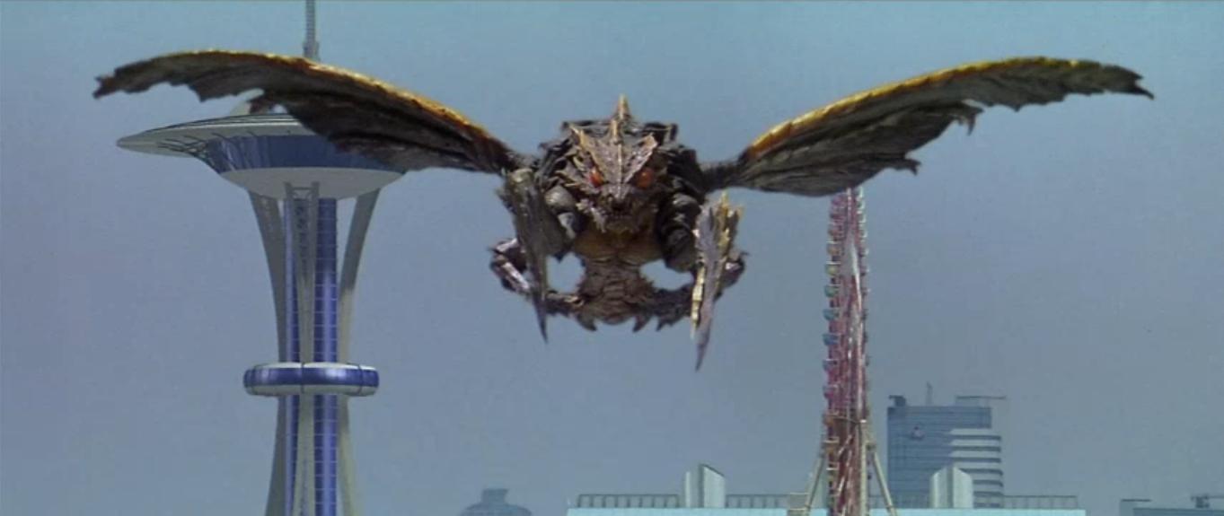 File Godzilla vs  Megaguirus - Megaguirus looks at Godzilla pngGodzilla 2000 Vs Megaguirus