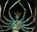 Dios Estatua Protector del Tesoro