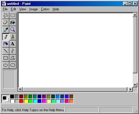 How To Edit Pictures In Paint Windows Xp