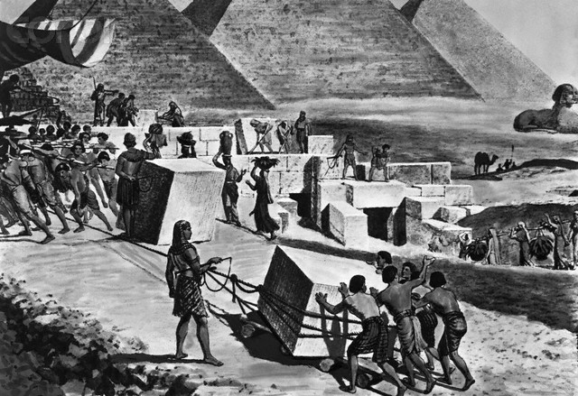 Did Egyptians Use Slave Labor To Build Pyramids