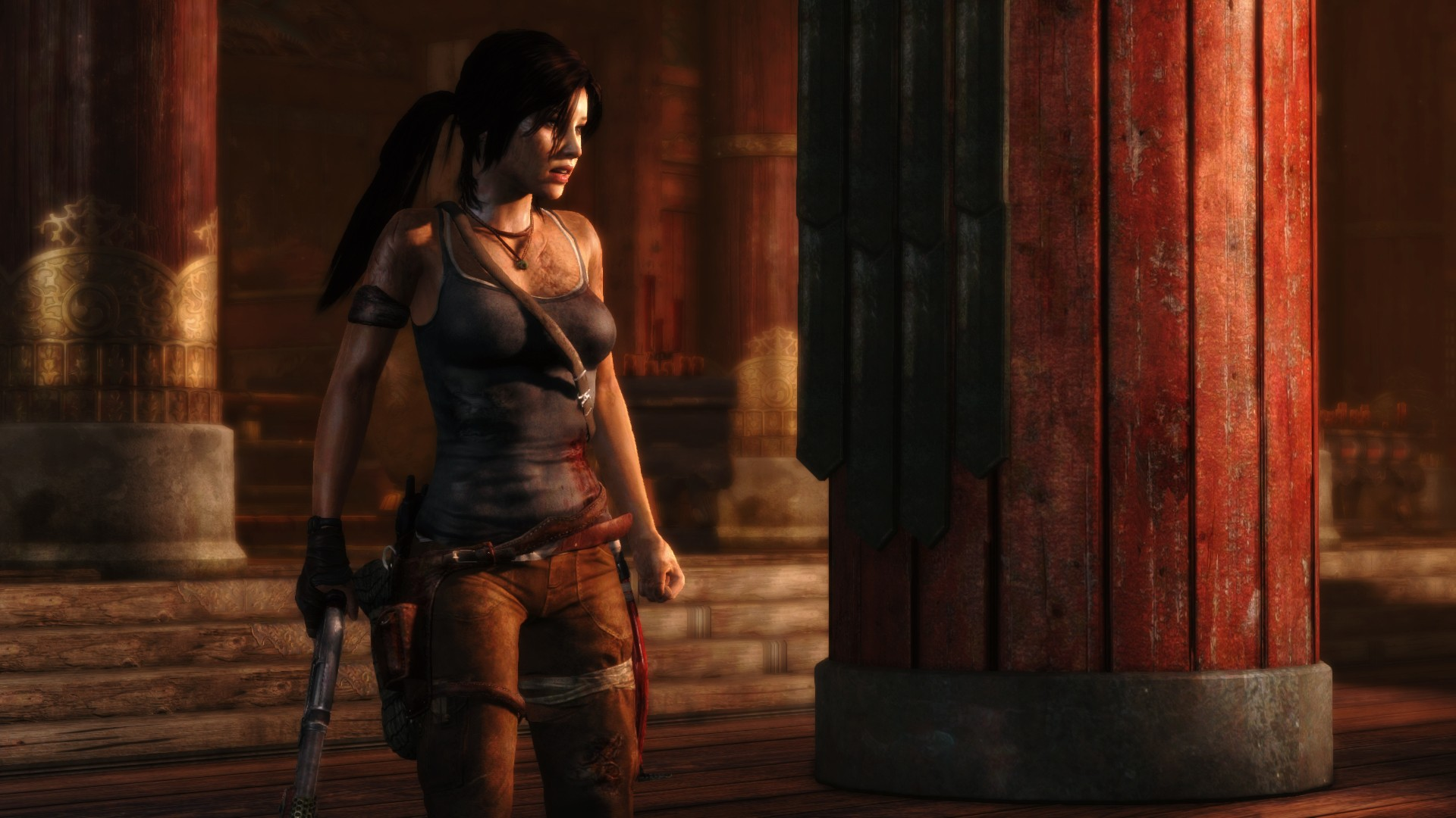 Tomb Raider 2013 Wallpaper: Tomb-raider-2013-gameplay-wallpaper.jpg