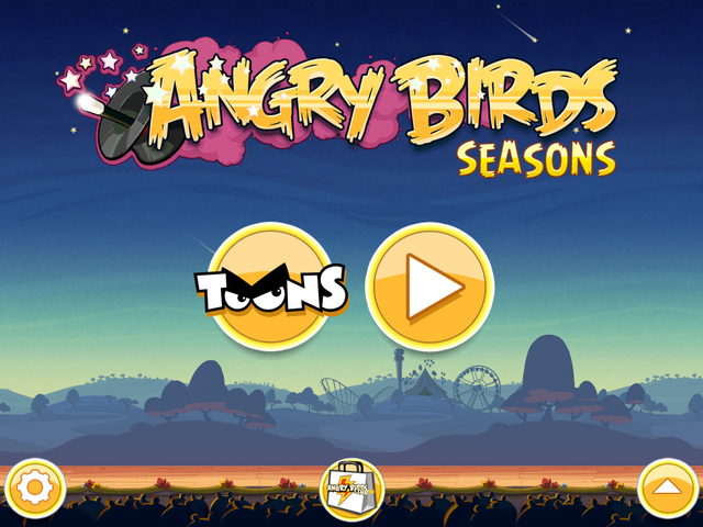 Долгожданное магически-цирковое обновление Angry Birds Seasons под название