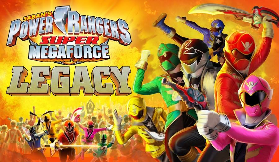 in power rangers super megaforce power rangers super megaforce legacy