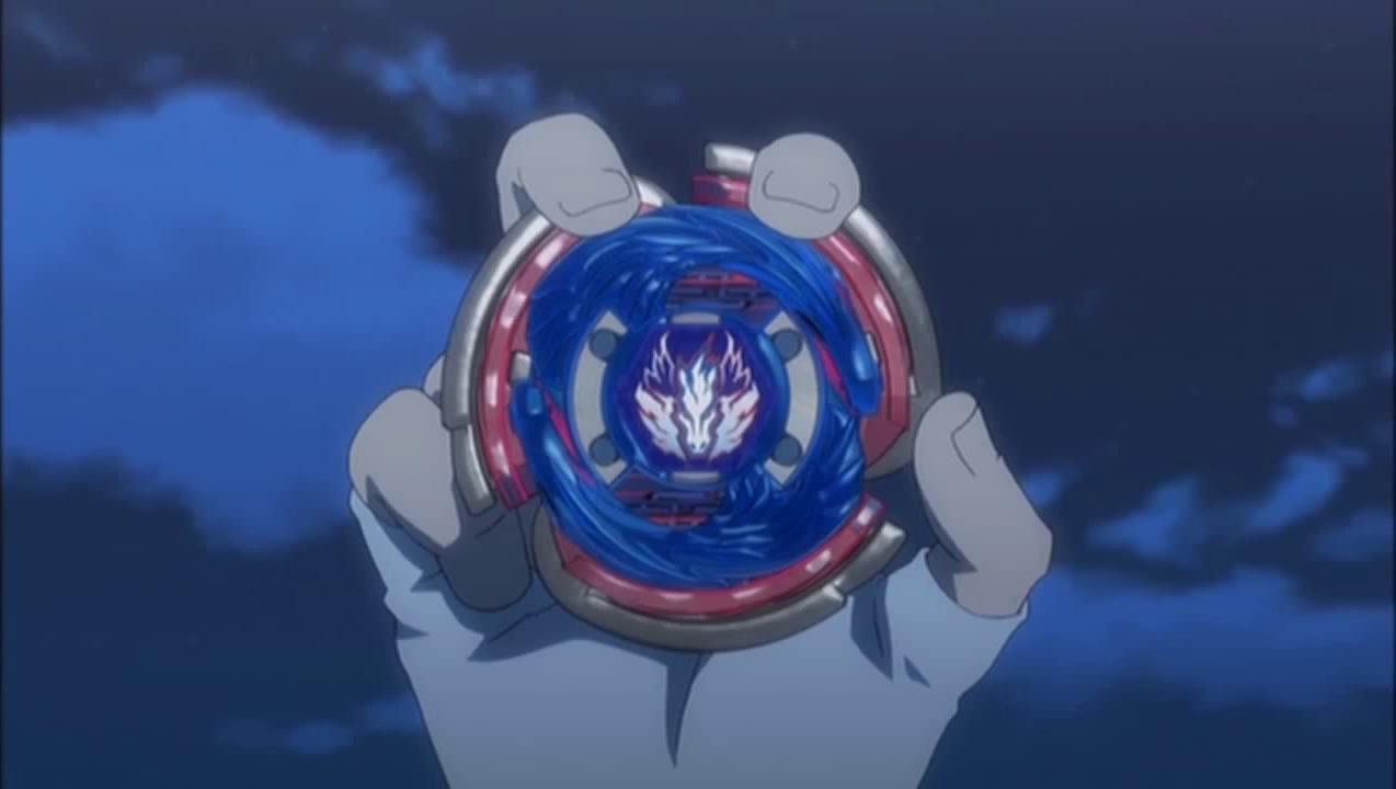 Beyblade Cosmic Pegasus Image - Gingka holding...