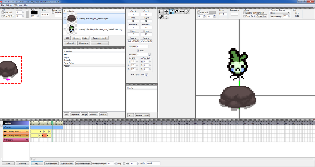 2d animation software gamedev Free 2d software