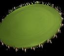 Frisbee à dents de serpent