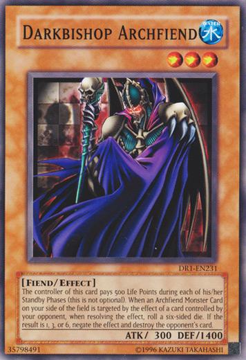 Darkbishop archfiend yu gi oh it s time to duel wikia