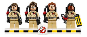 Minifigs LEGO Ghostbusters