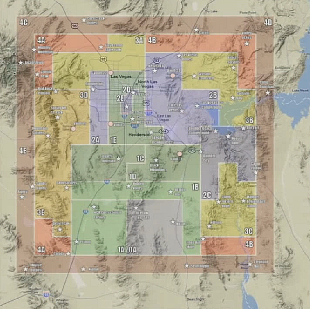 Valley Of Fire Fallout Wiki FANDOM Powered By Wikia - Fallout nv map to us