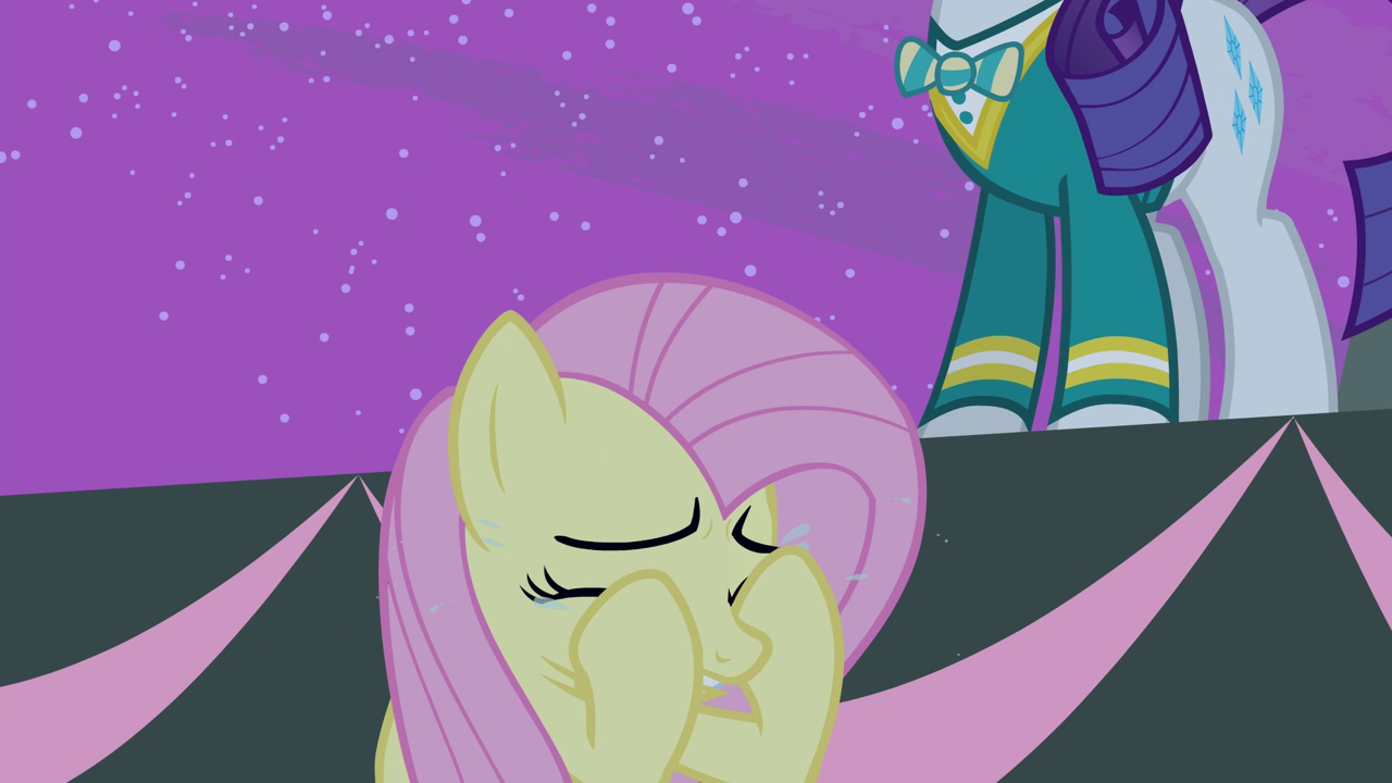 Fluttershy Crying Again S4E14.png