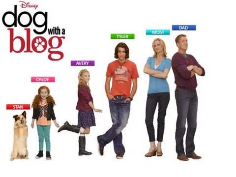 Disney Show Dog With A Blog Cast