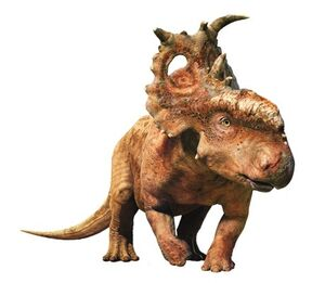 pachyrhinosaurus walking with dinosaurs scowler  ... walking with dinosaurs 3d