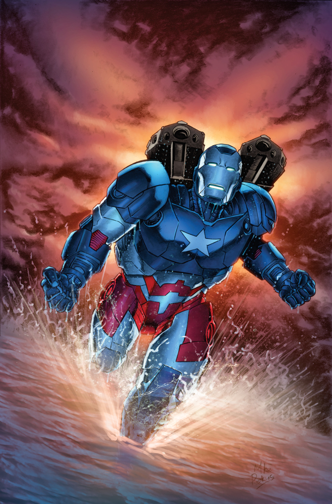 Iron Patriot Vol 1 1 Perkins Variant Textless