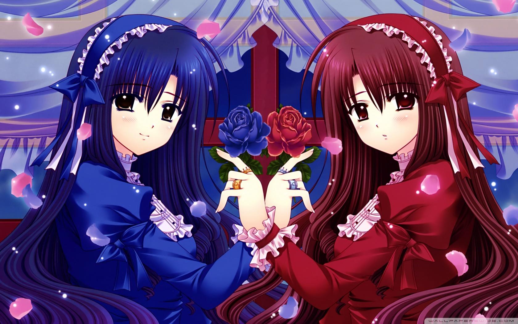 Image Anime Girls 7 Wallpaper 1680x1050 Jpg