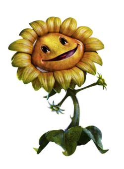 Plants vs. Zombies: Garden Warfare. 250px-SunflowerGardenWarfare