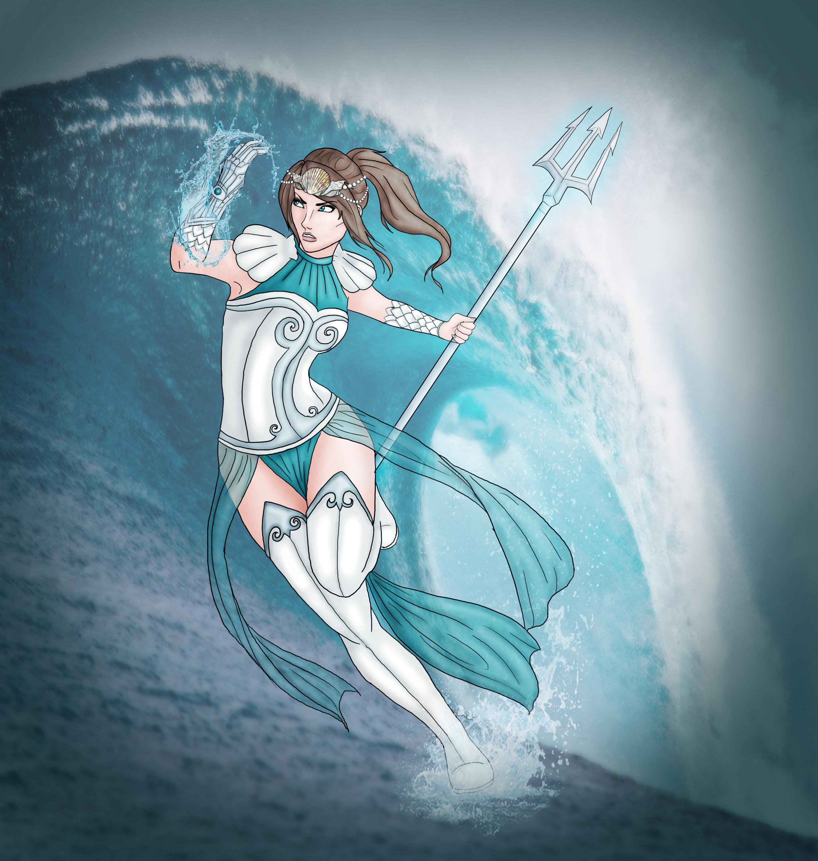 Poseidon Staff Tattoo: Percy Jackson Fanfiction Wiki