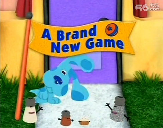 Brand new game blue s clues wiki