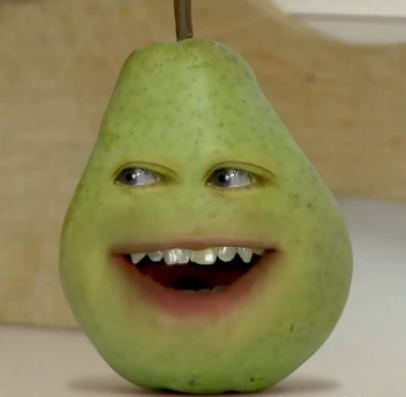 The gallery for --> Annoying Orange Pear Dies