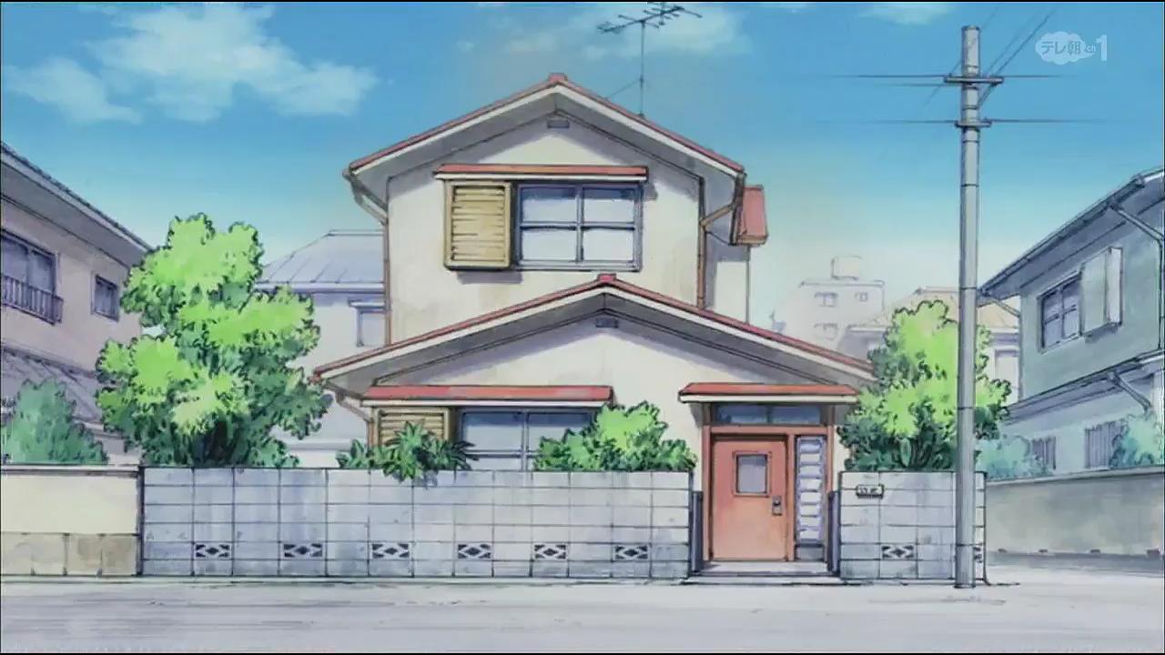 Nobita's house in the 2005 anime.