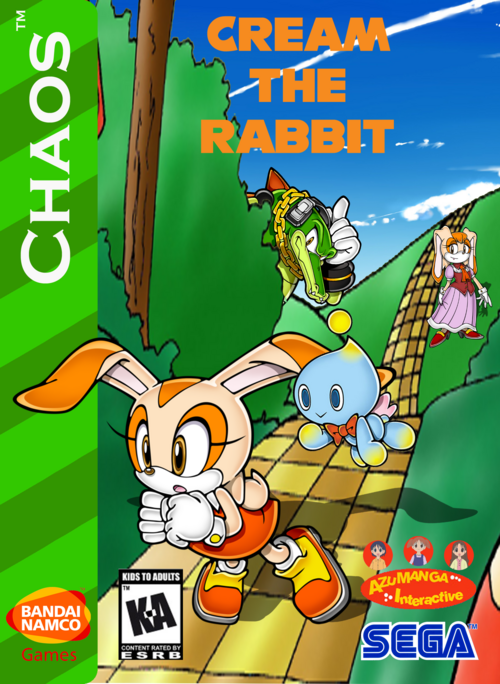 Video Game Girl Stock Image Image Of Latina Isolated: Cream The Rabbit (Video Game)