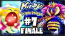 Kirby Triple Deluxe 3DS - (1080p) Part 7 FINALE - Royal Road FINAL BOSS & Extra Stages