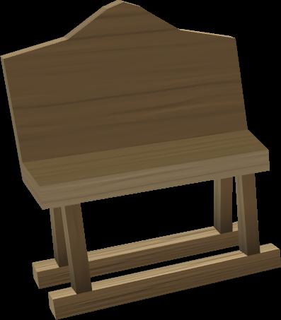 Oak Bench The Runescape Wiki
