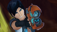 Buzzsaw  and  Torch  in  Fusion Blaster  png  1 08 MB Slugterra Double Barrel Blaster