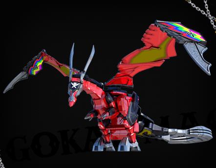 power rangers dragon