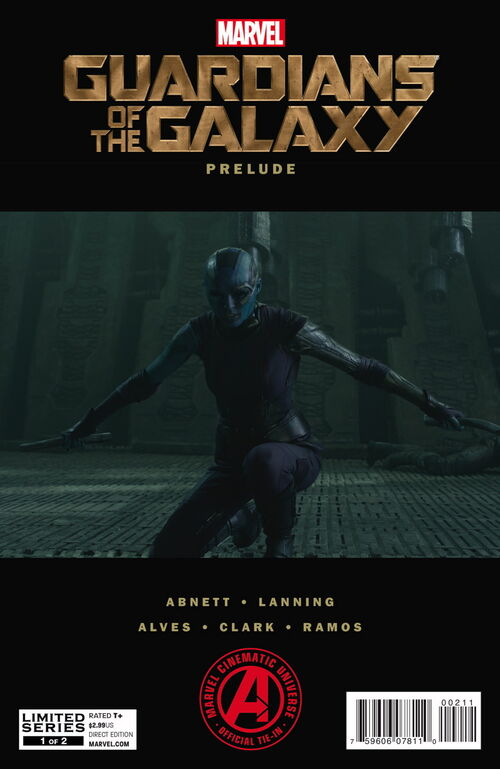 Guardians of the galaxy prelude marvel cinematic universe wiki