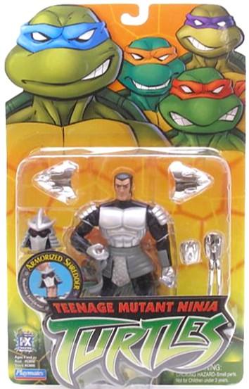 Teenage Mutant Ninja Turtles (TMNT) Shredder_2003_Armorized_figure