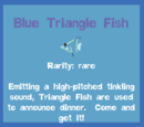 Blue Triangle Fish