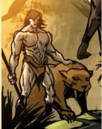 Kevin Plunder (Earth-93074) and Zabu (Earth-93074) from What If X-Men Age of Apocalypse Vol 1 1 0001.png