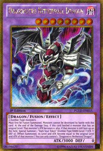 Dragonecro Nethersoul Dragon - Yu-Gi-Oh! - It's time to Duel! Yugioh Fusion Dragon Monsters
