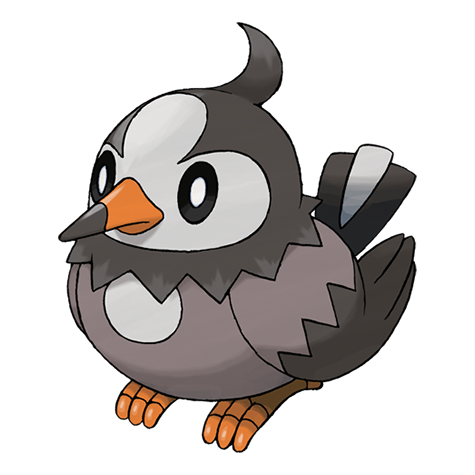 Shiny starly