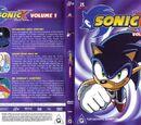 Australian Sonic X DVDs