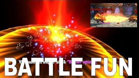 DRAGONS WORLD-Battling
