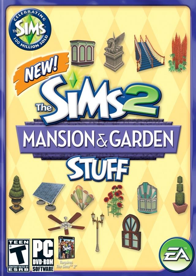 The Sims 2 Mansion & Garden Stuff