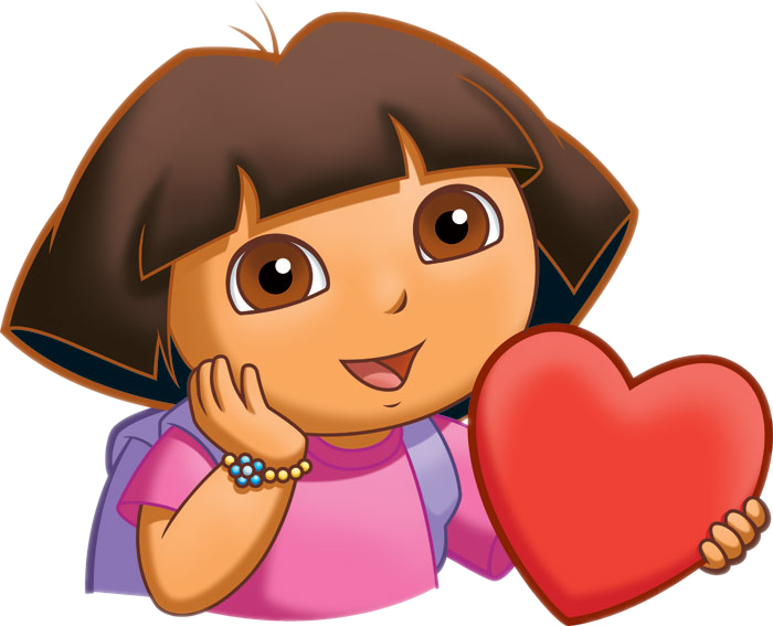 Dora The Explorer Coloring Page #6