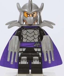 shredder 2014  Shredder Purple Cloak