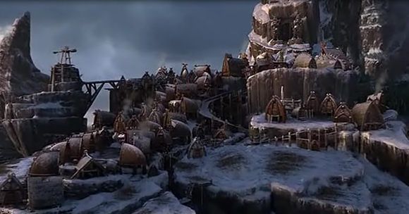 Berk Village Rise Of The Brave Tangled Dragons Wiki