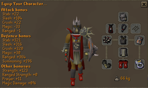 Runescape 3 equipment slots