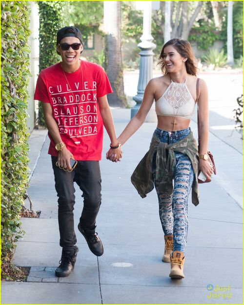 Roshon Fegan Girlfriend 2013