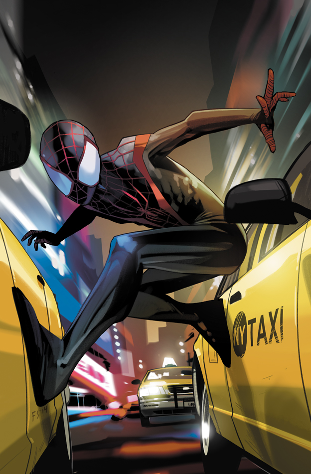 Miles Morales Ultimate Spider-Man Vol 1 1 Staples Variant Textless