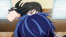 Kisara about to punch Rentaro.png