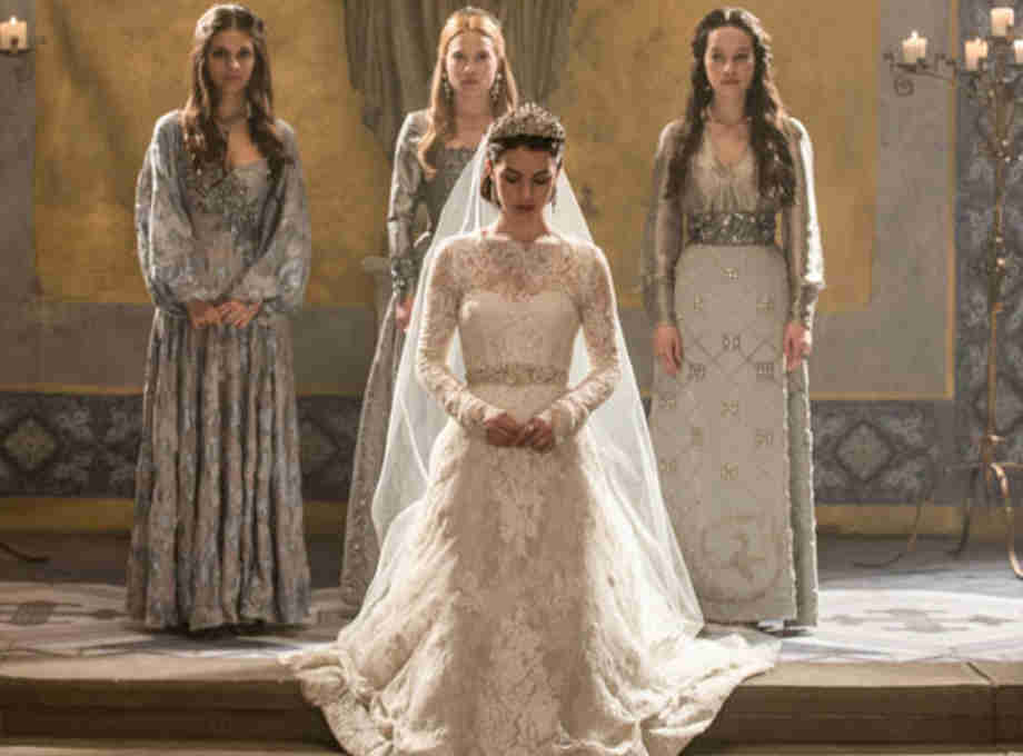 Reign episode 7 red dress h&m
