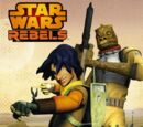 Brandon Rhea/Covers Revealed for Star Wars Rebels Books